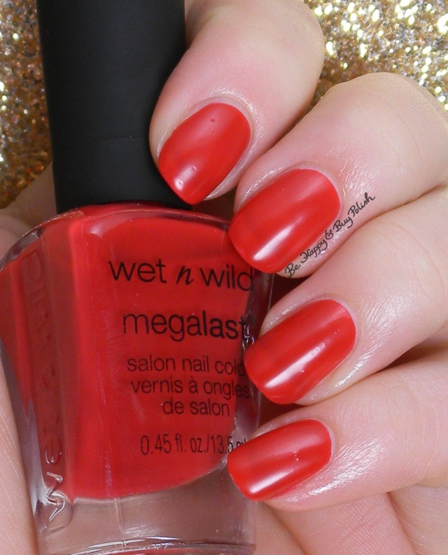 Wet N Wild Rouge 66 | Be Happy And Buy Polish