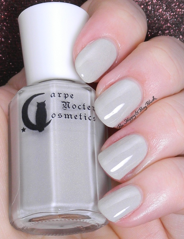 Carpe Noctem Cosmetics Taupey Tips | Be Happy and Buy Polish