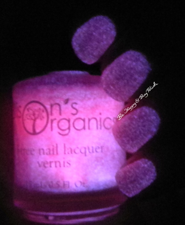 Ellison's Organics Dazzling glow in the dark | Be Happy and Buy Polish