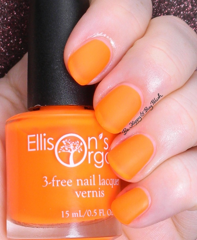 Ellison's Organics Extraordinary | Be Happy and Buy Polish