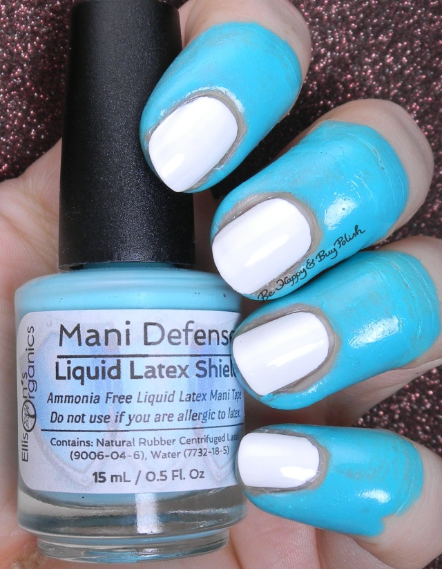 Ellison's Organics Mani Defense Liquid Latex Shield | Be Happy and Buy Polish