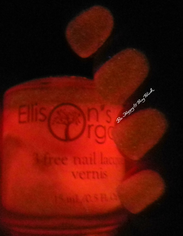 Ellison's Organics Stunning glow in the dark | Be Happy and Buy Polish