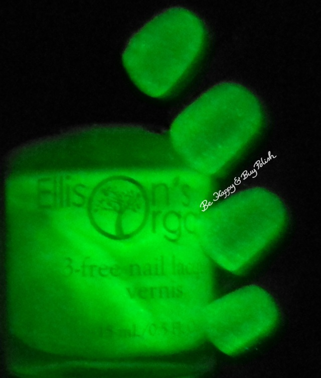 Ellison's Organics Talented glow in the dark | Be Happy and Buy Polish