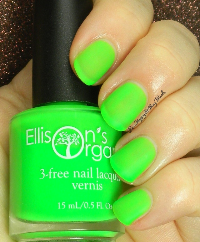 Ellison's Organics Talented | Be Happy and Buy Polish