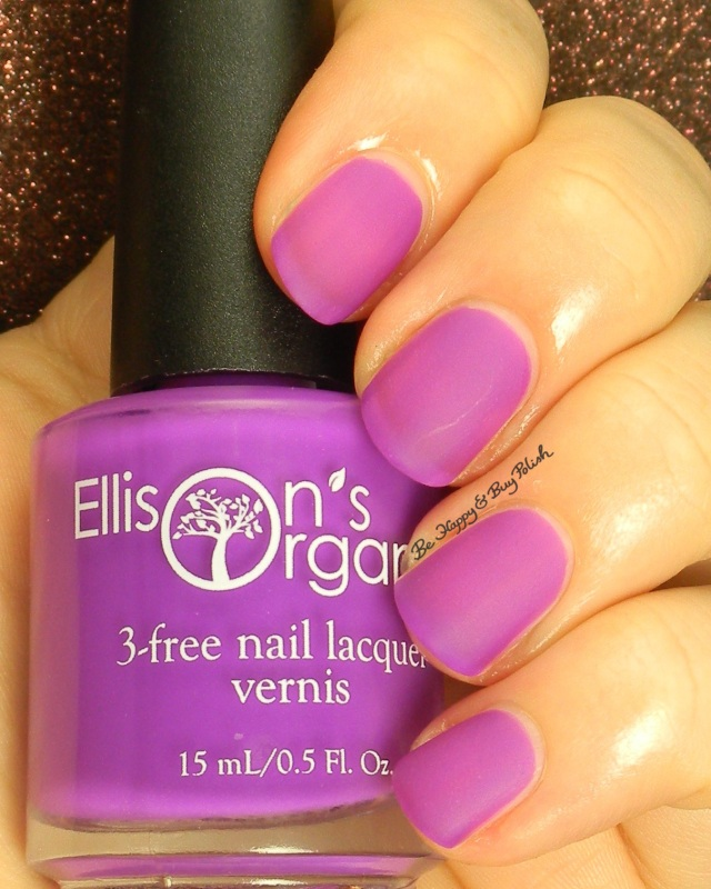 Ellison's Organics Unforgettable | Be Happy and Buy Polish