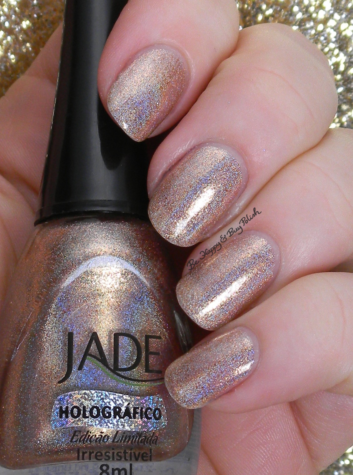 Jade Polish Irresistivel swatches + review | Be Happy and Buy Polish