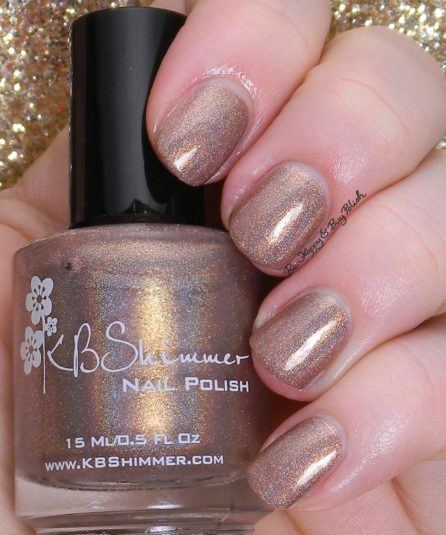 KBShimmer Big Tan on Campus | Be Happy and Buy Polish