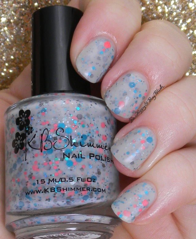 KBShimmer Make My Gray matte | Be Happy and Buy Polish