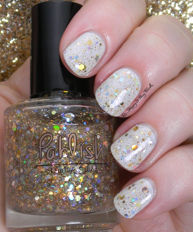 Pahlish Italian Cream Soda over Pahlish The White Tree | Be Happy and Buy Polish