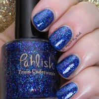 Pahlish Train Underwater swatch + review