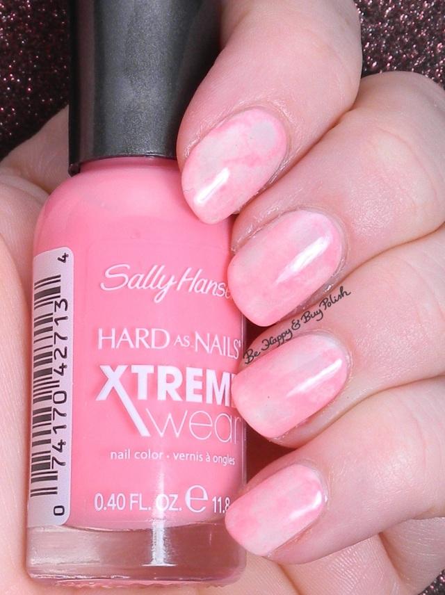 Sally Hansen marbled nail art | Be Happy and Buy Polish