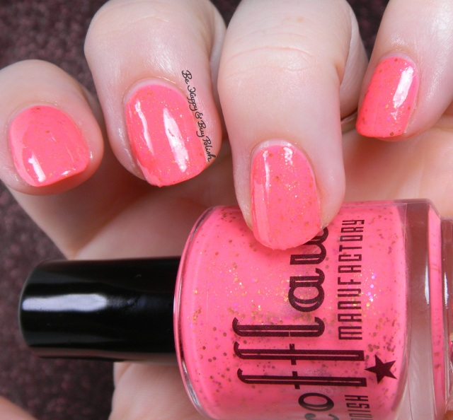 Scofflaw Nail Varnish Pink Elephants on Parade | Be Happy and Buy Polish