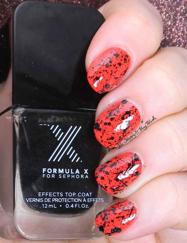 Sephora Formula X Blast Off over Push the Limits | Be Happy and Buy Polish