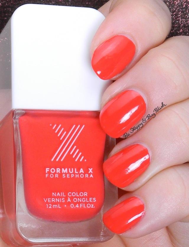 Sephora Formula X Push the Limits | Be Happy and Buy Polish