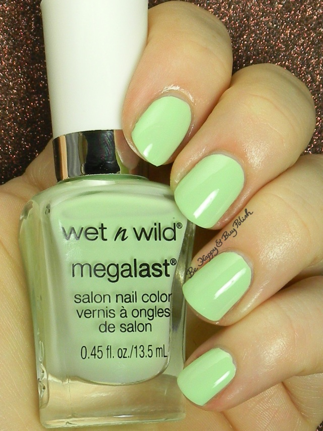 Wet N Wild Green Tease | Be Happy and Buy Polish
