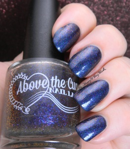 Above the Curve Wibbly Wobbly Timey Wimey over butter LONDON Big Smoke | Be Happy and Buy Polish