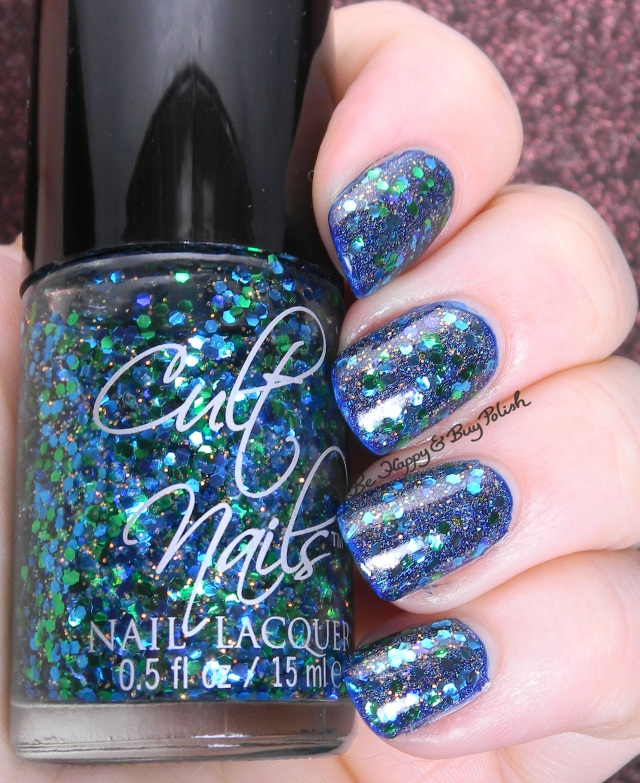 Cult Nails Time Traveler, ellagee Breena, Cult Nails Dance All Night | Be Happy And Buy Polish
