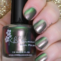 KBShimmer Urban Camo swatch + review
