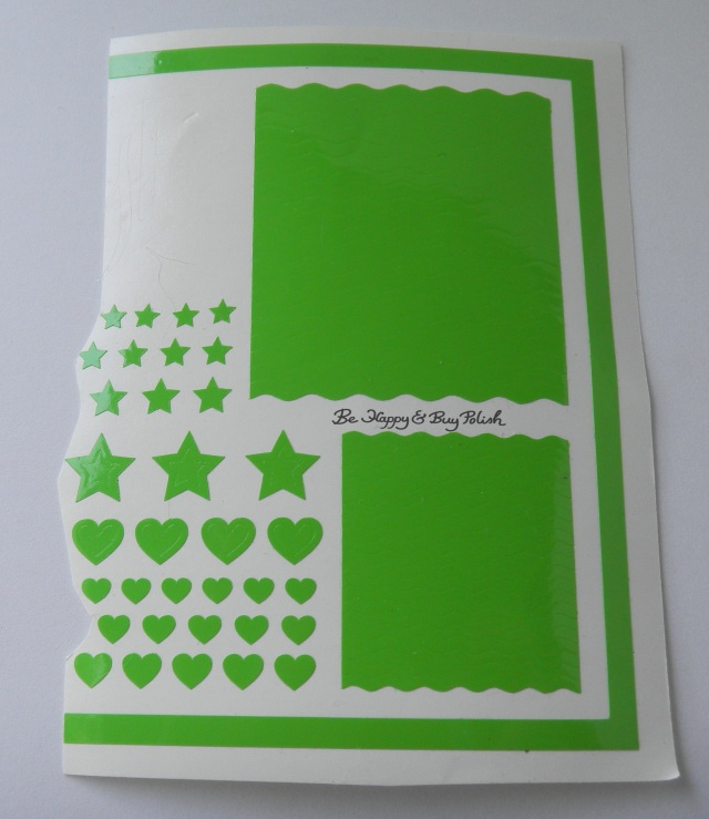 Mommy & Me vinyl decals Hearts, Stars, Wavy Lines | Be Happy And Buy Polish