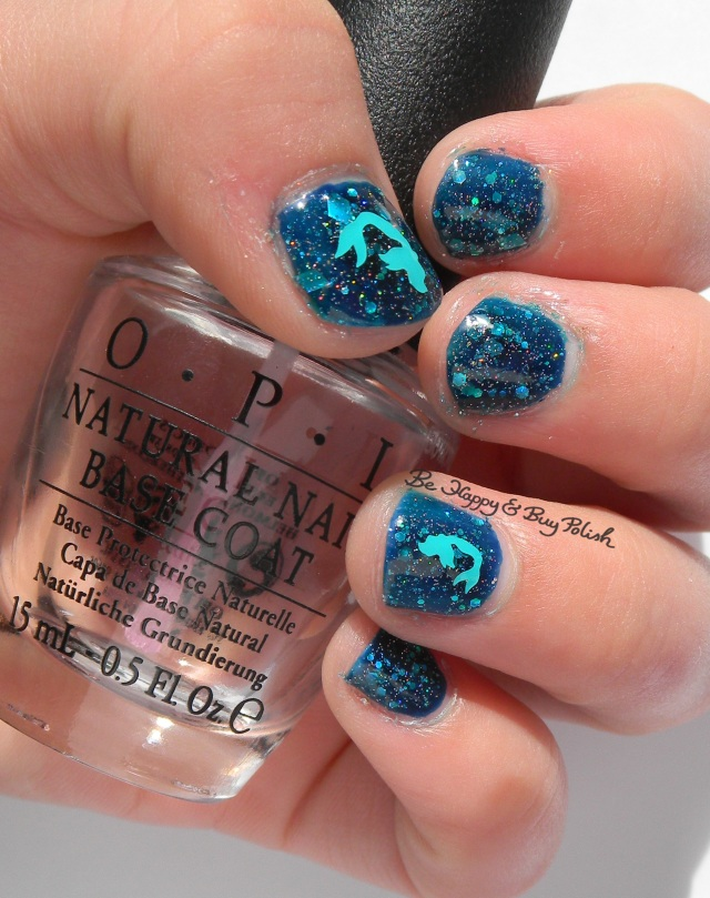 Ocean mermaid childs nail art | Be Happy And Buy Polish