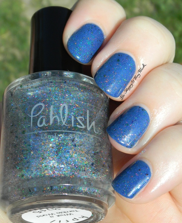 Pahlish What a Terrible World over OPI Dating a Royal sun shot | Be Happy And Buy Polish