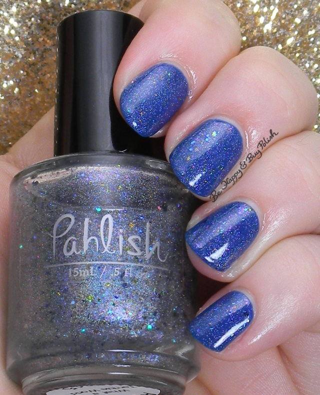 Pahlish What a Terrible World over OPI Dating a Royal | Be Happy And Buy Polish