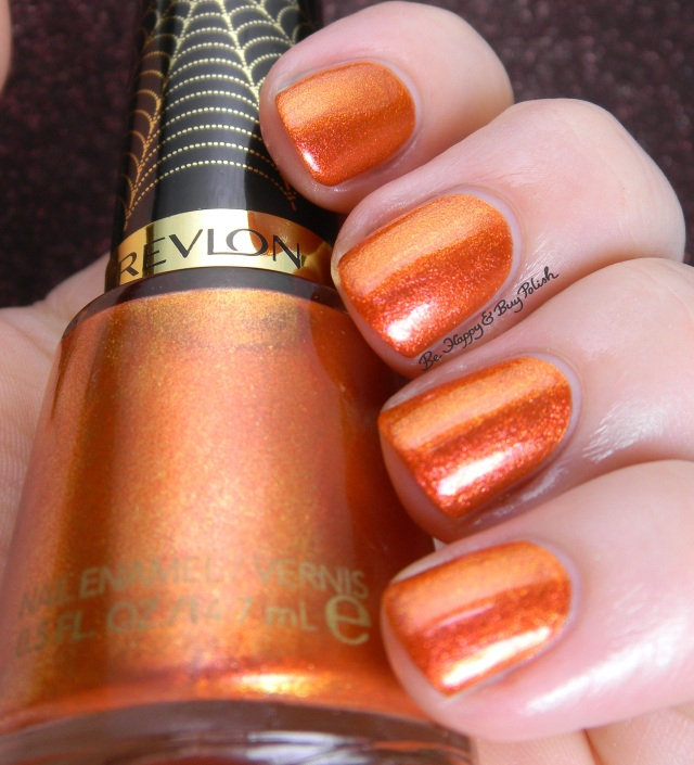 Revlon Electrified Web color shift | Be Happy And Buy Polish