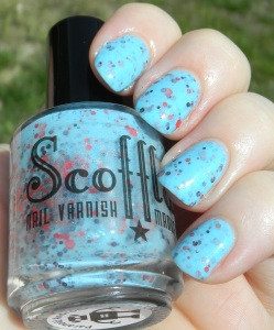 Scofflaw Nail Varnish Paranoid Android sun photo | Be Happy And Buy Polish