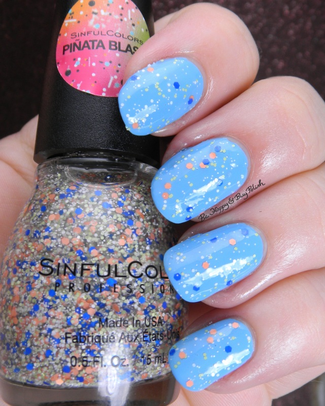 Sinful Colors Baila Baila over Cult Nails Nakizzle's Shizzle | Be Happy And Buy Polish