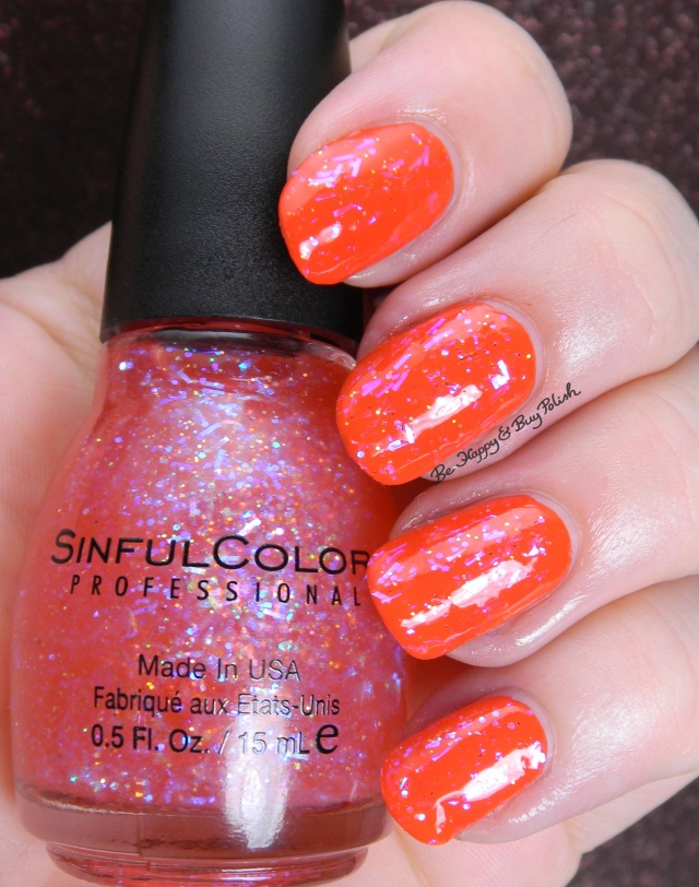 Sinful Colors Pink Ansen over Cult Nails Ay Poppy | Be Happy And Buy Polish