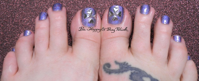 Color Club Eternal Beauty, Sephora Formula X Devious flower pedicure | Be Happy And Buy Polish