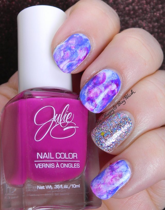 dry sponge nail art with JulieG and ellagee | Be Happy And Buy Polish