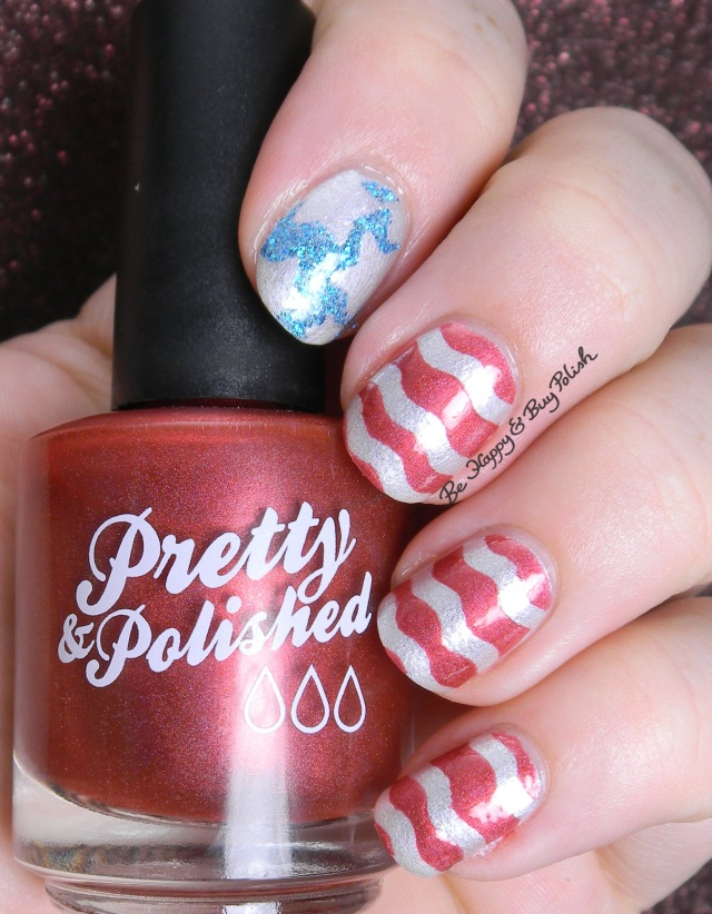 Independence Day American Flag manicure | Be Happy And Buy Polish