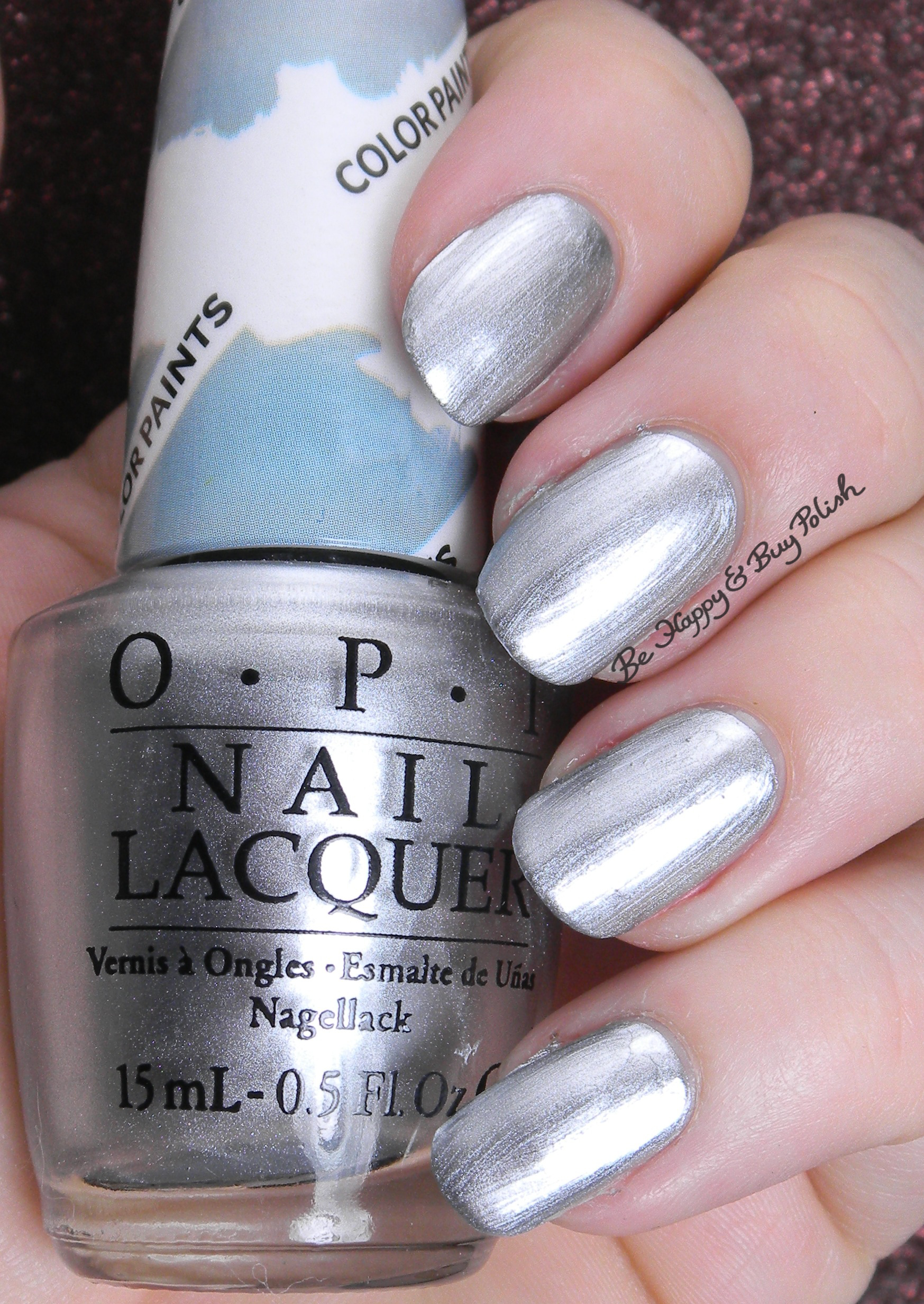 opi color paints layered manicure be happy and buy polish