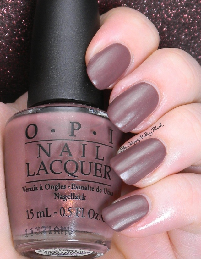 OPI Wooden Shoe Like To Know matte top coat | Be Happy And Buy Polish