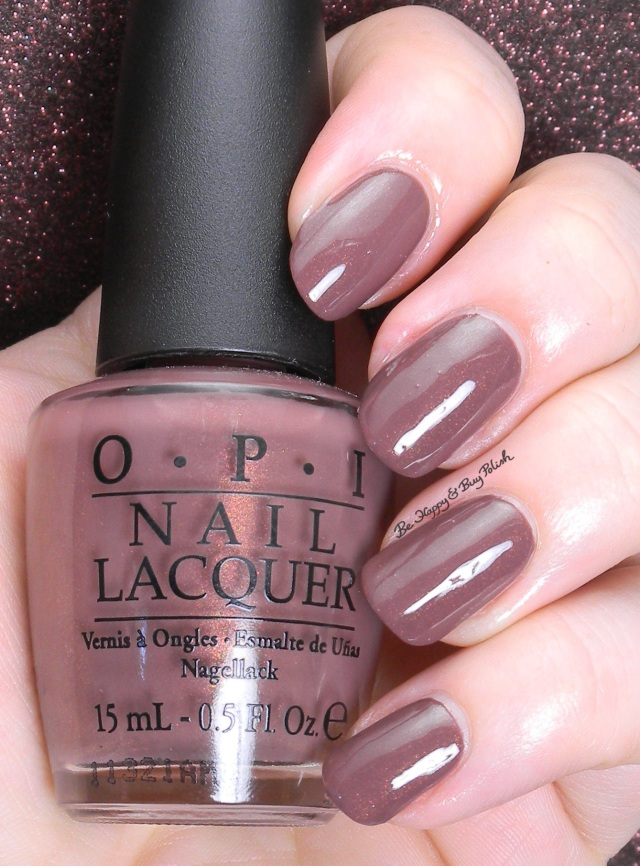 OPI Wooden Shoe Like To Know | Be Happy And Buy Polish