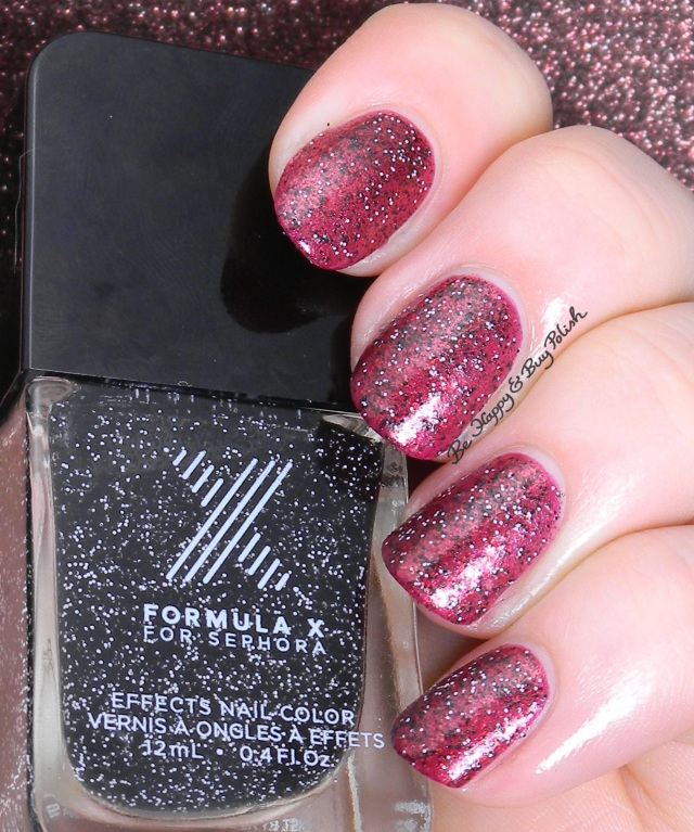 Sephora Formula X Loose Cannon over Spectrum | Be Happy And Buy Polish
