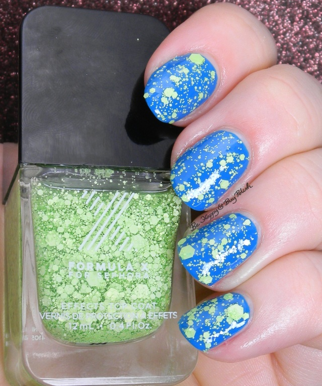 Sephora Formula X Maniacal over Zing | Be Happy And Buy Polish