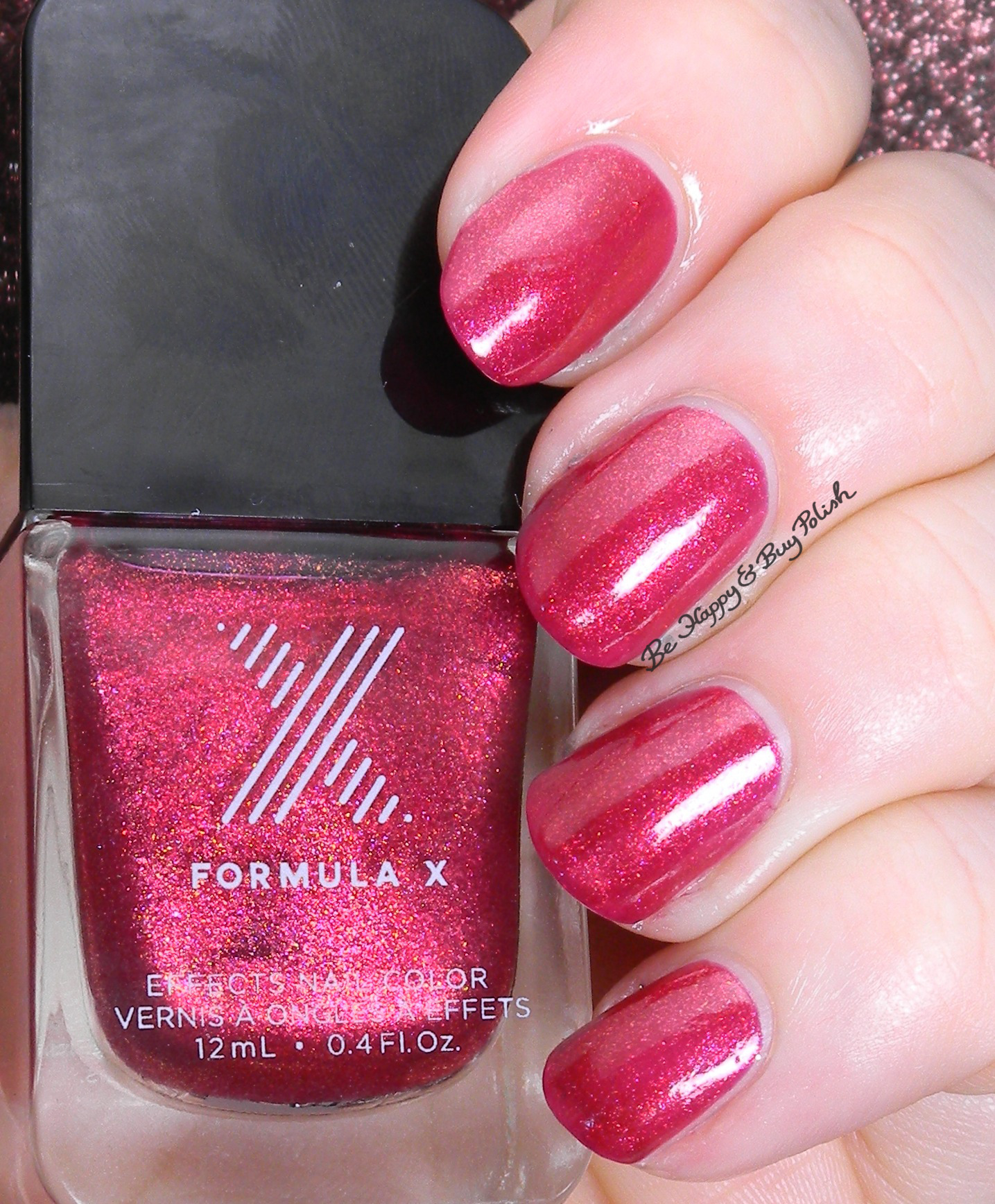Sephora Formula X Magma Spectrum Loose Cannon Swatch Review Be Happy And Buy Polish
