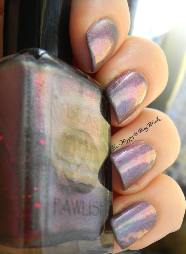 Bear Pawlish Holiday on the Moon color shift | Be Happy And Buy Polish