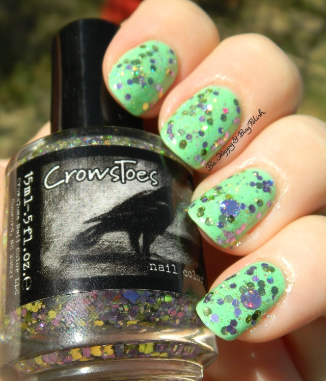 CrowsToes Boat Drinks over Verity Soft Green sun photo | Be Happy And Buy Polish