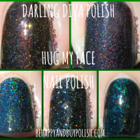 Darling Diva Polish Hug My Face aka Aliens nail polish collection, part 2
