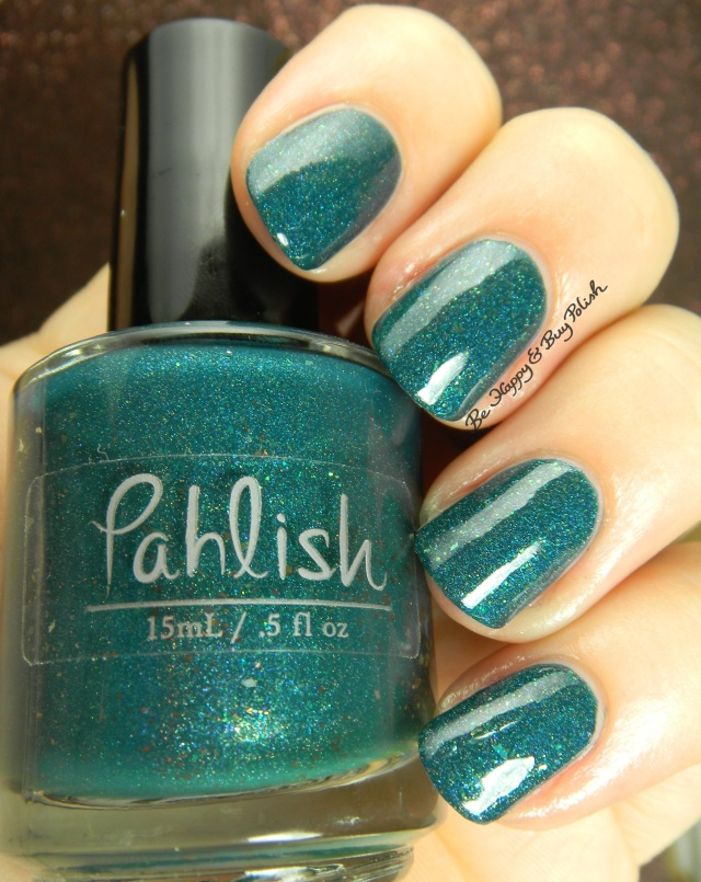 Pahlish green mystery holo | Be Happy And Buy Polish
