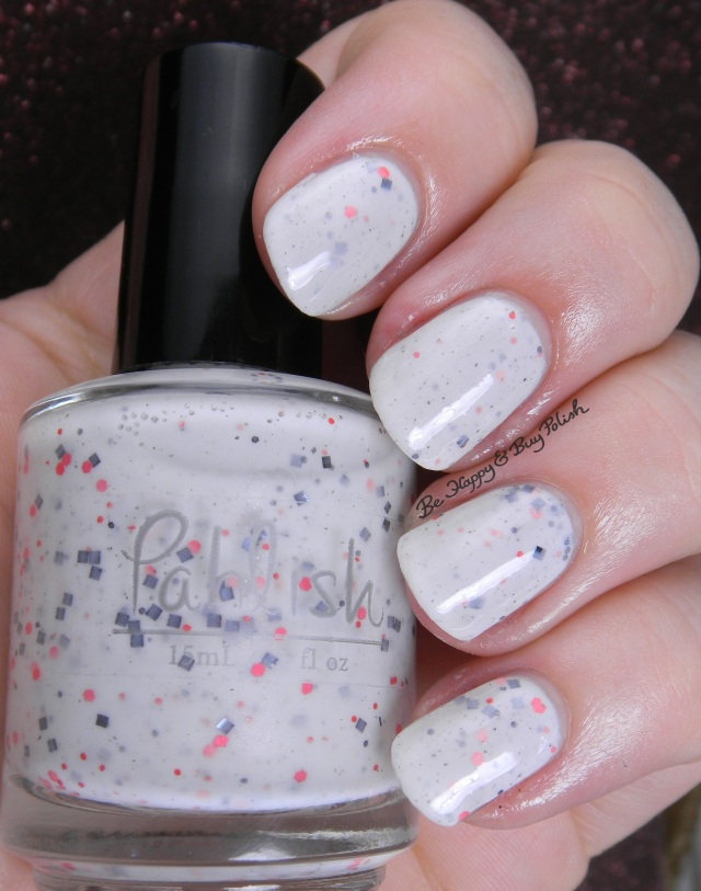 Pahlish white crelly mystery | Be Happy And Buy Polish