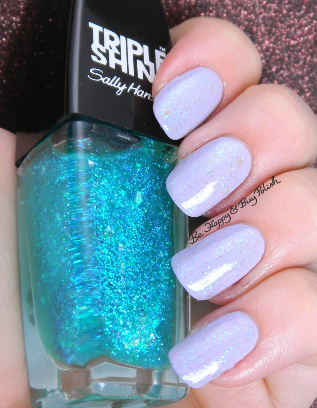 Sally Hansen Hypnautical over Water Orchid | Be Happy And Buy Polish