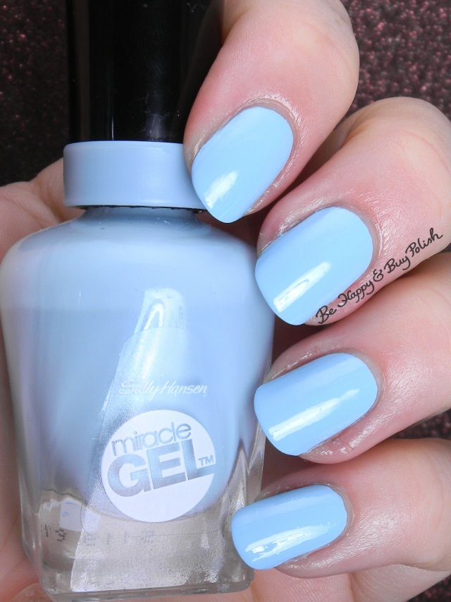 Sally Hansen Miracle Gel  Blue Hue | Be Happy And Buy Polish