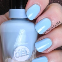 Sally Hansen Miracle Gel Limited Edition Duo Pack nail polishes swatches + review