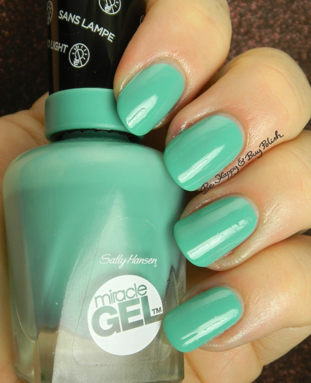 Sally Hansen Miracle Gel  Geo-Mint-ric | Be Happy And Buy Polish