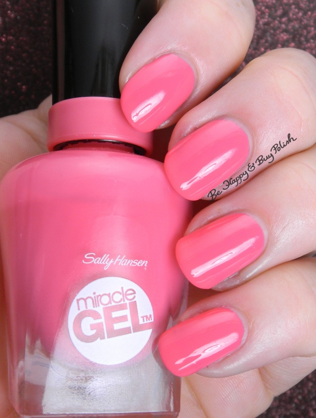 Sally Hansen Miracle Gel Get It Bright | Be Happy And Buy Polish