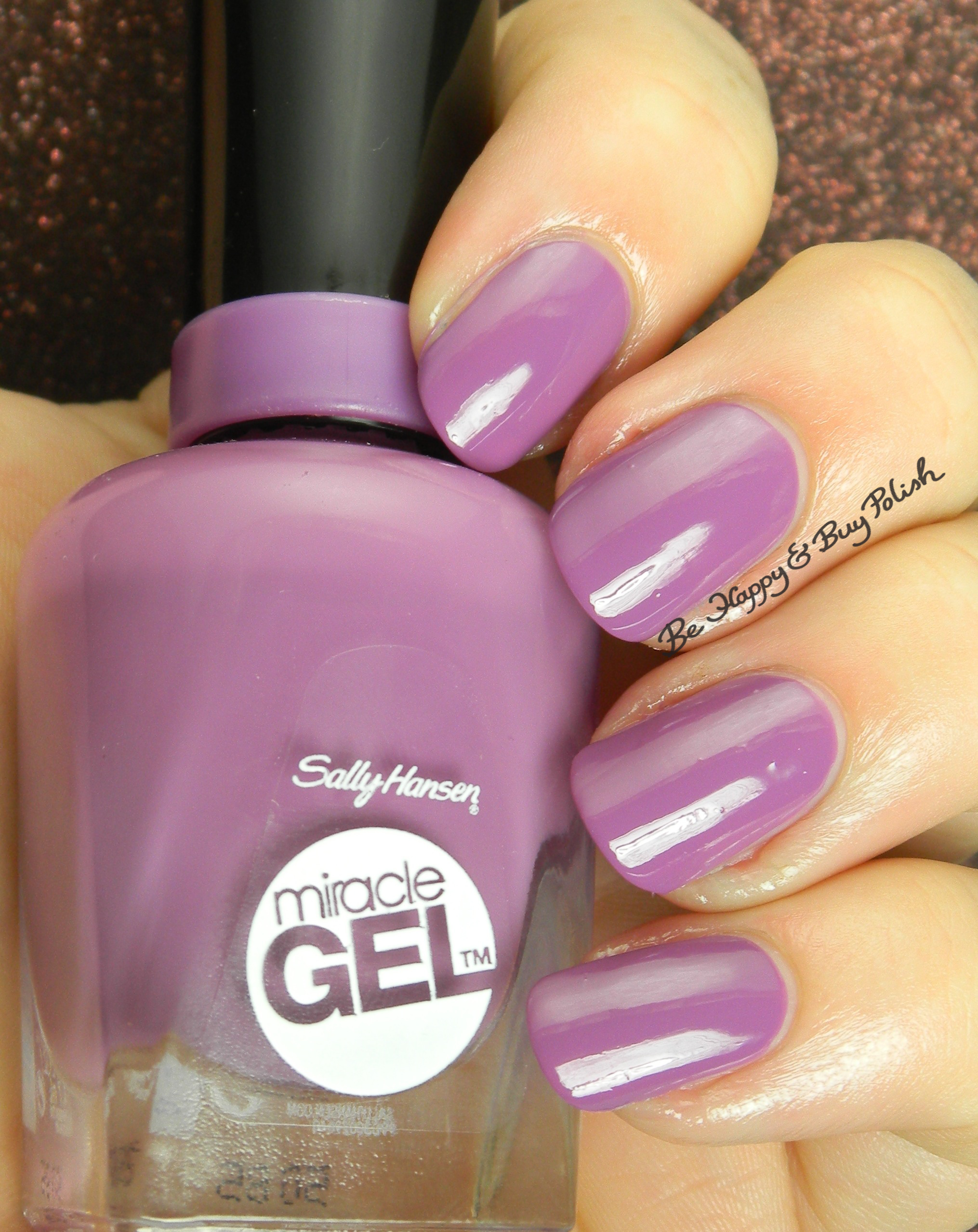 Sally Hansen Miracle Gel Limited Edition Duo Pack Nail Polishes Swatches Review Be Happy And